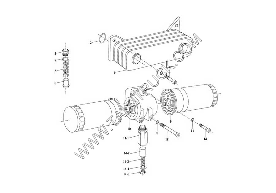 OIL PUMP & FILTER-TWO