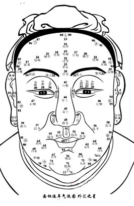 Repris Face reading