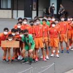 県U-15サッカー選手権 開会式
