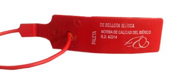 etiqueta roja