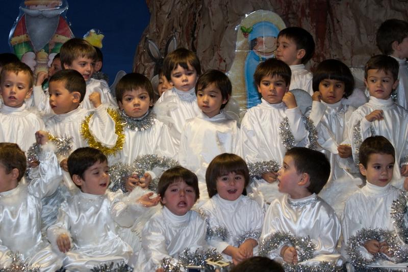 Festival de Navidad en Infantil