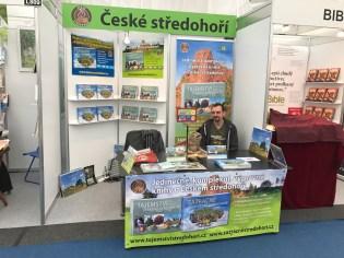 Svět knihy 2017 Stánek České středohoří