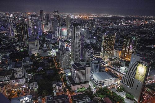 Tajskie Wakacje - Bangkok nocą