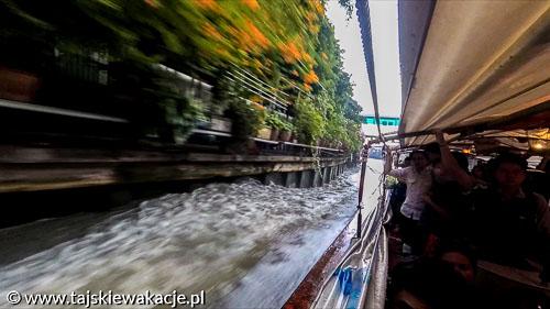 Tajskie wakacje - Bangkok zwiedzanie promem