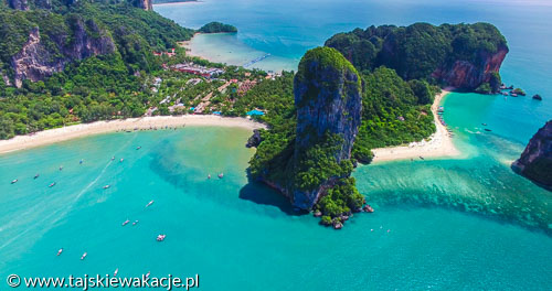 Krabo Railay Beach i Phra nang Cave Beach