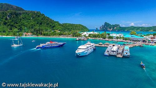 Wycieczki Tajlandia - Rajskie wyspy PhiPhi