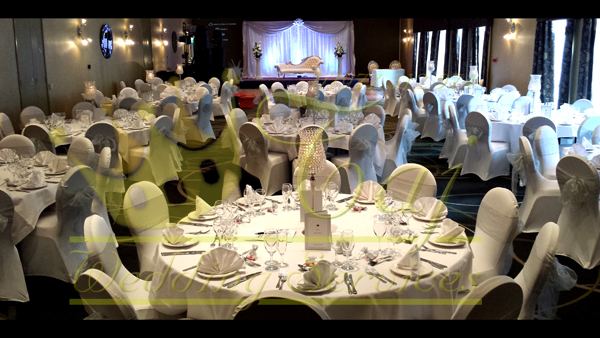 wedding chair cover hire brighton oval back dining side covers table top decorations london