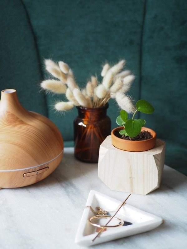 Plantenbakje geometrisch