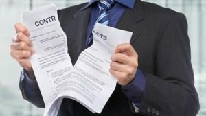 Résiliation des contrats