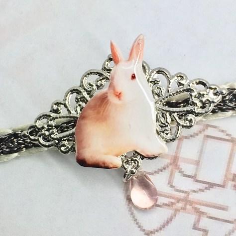 創作和小物 和秀 白いウサギ