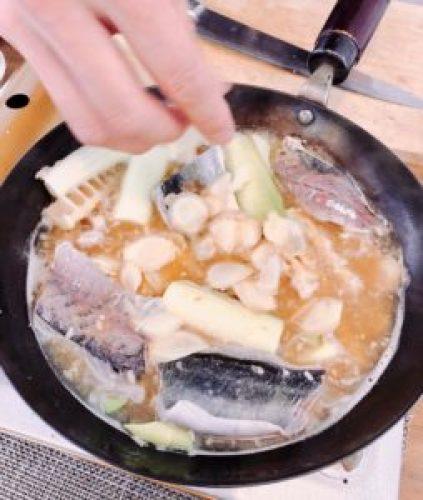 真鯵の味噌煮