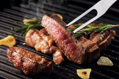 グリルされた牛肉