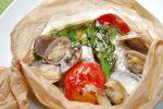 レシピ『塩麹を使った魚介のカルトッチョ』