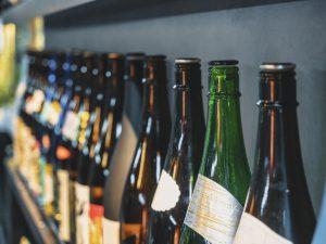 並べられた酒瓶