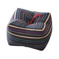 Japanese Sobagara Buckwheat Husk Cushion & Pillow Blue ...