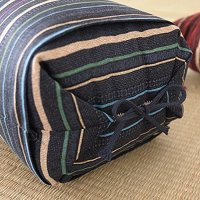 Japanese Sobagara Buckwheat Husk Pillow Blue - Made in ...