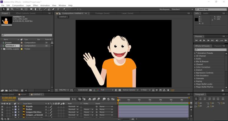 import projek adobe illustrator ke After Effects