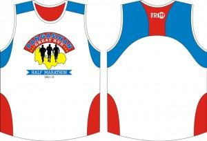 Pangasinan Great Run Singlet Design