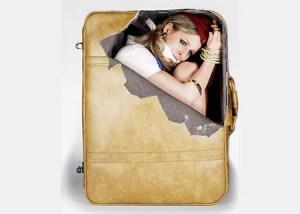 Koffer Aufkleber