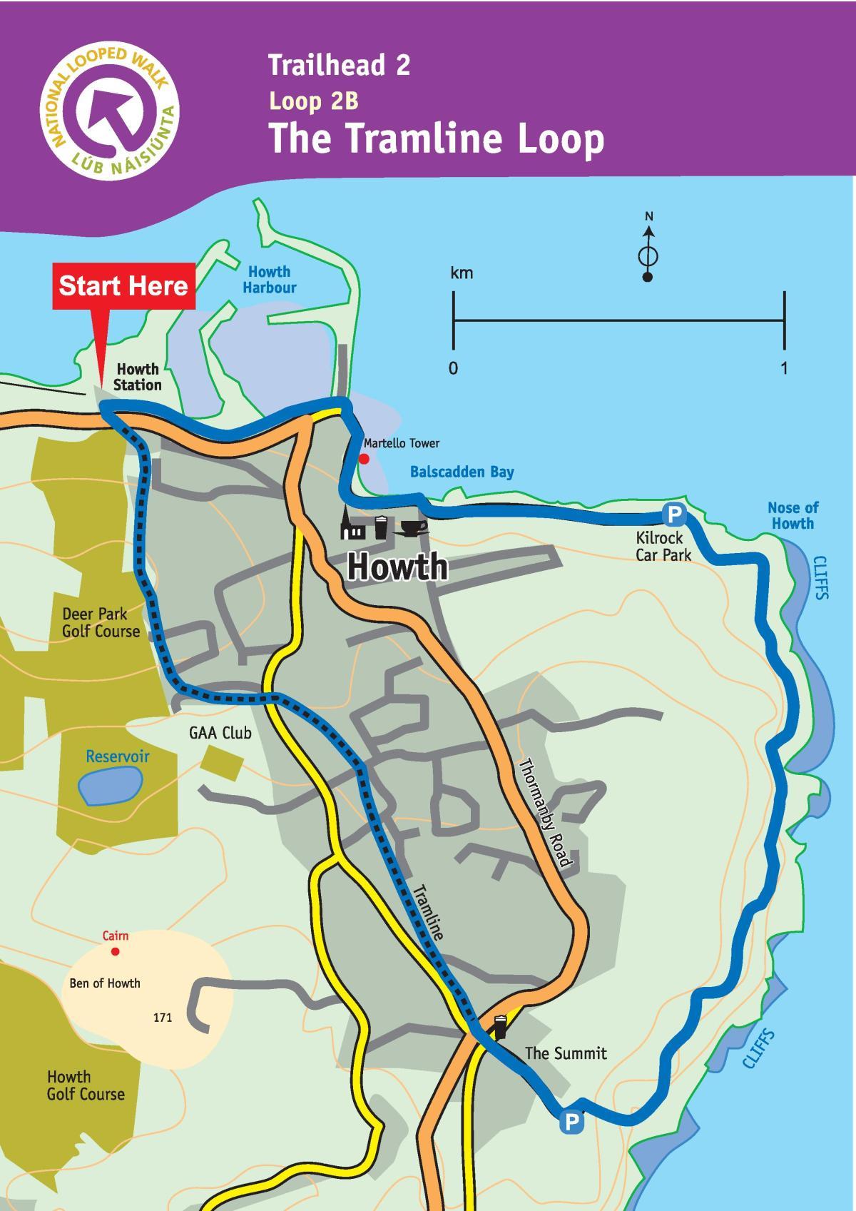 Howth Tramline Loop Walk