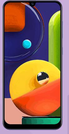 Ambil Screenshot di Samsung Galaxy A50