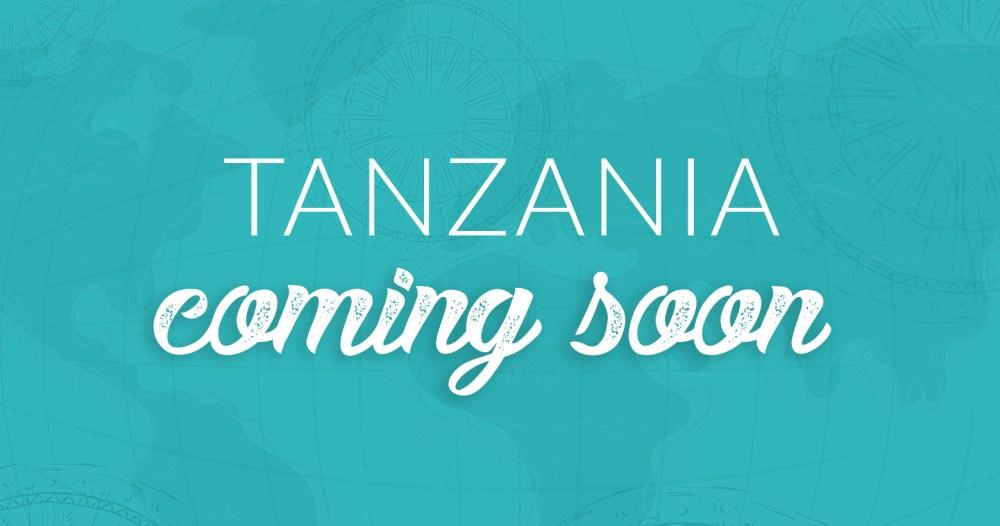 Tanzania-coming-soon