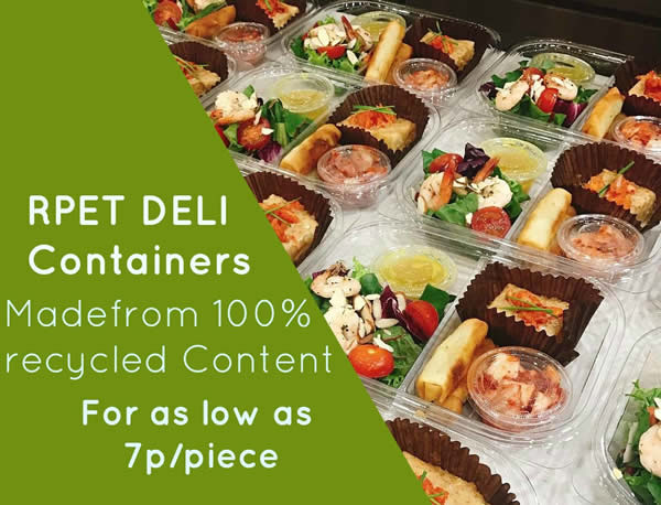RPET Deli Containers