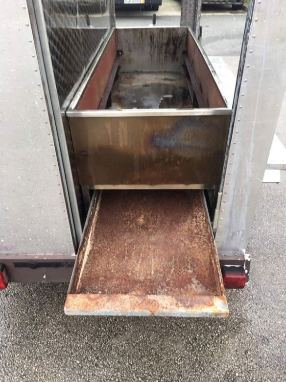 For Sale - Aluminium Catering Trailer Street Food Start Up