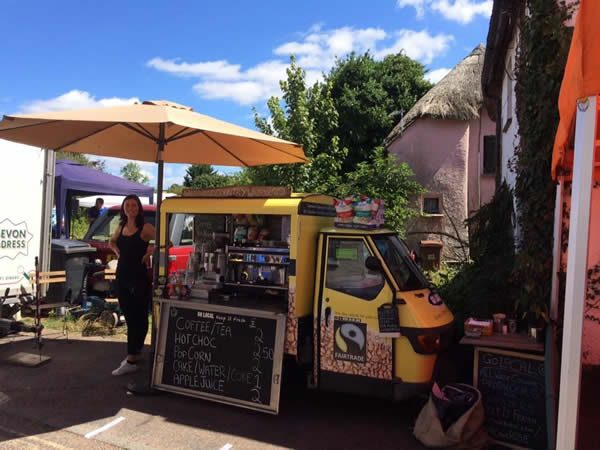 ape coffee van for sale