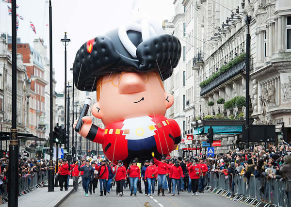 London New Year Parade 2019