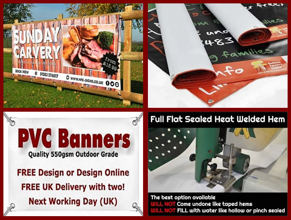 HFE Signs, Banners, Flags