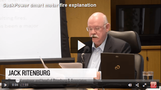 Jack Ritenburg, an electrical engineer and head of Ritengurb and Associates, reports on the suspected causes behind the SaskPower smart meter fires.