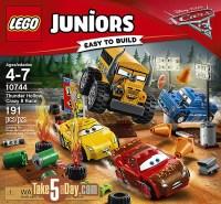Disney Pixar CARS 3: LEGO Juniors & Duplo's | Take Five a Day
