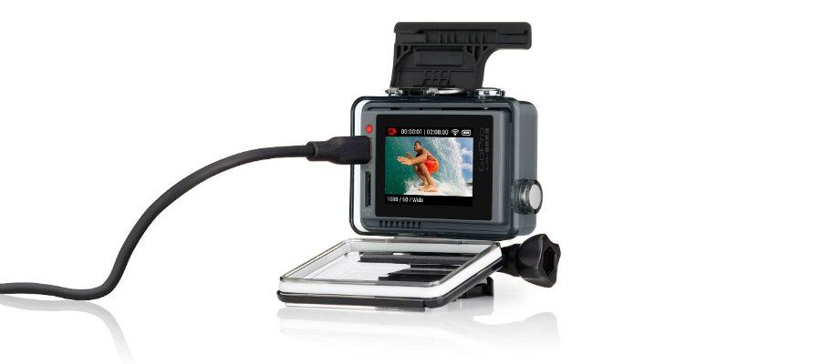 Представление камеры GoPro HERO+ LCD