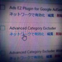 Advanced Category Excluder不具合