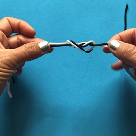 Learn How to Tie a Double Surgeon's Knot