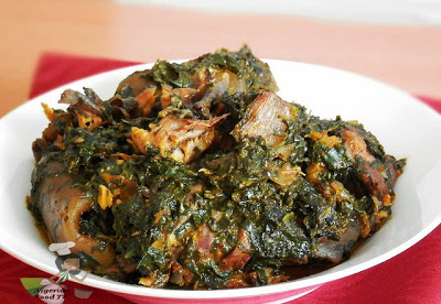 Afang Soup, How to Cook Afang Soup, Nigerian Food TV, Nigerian Afang soup