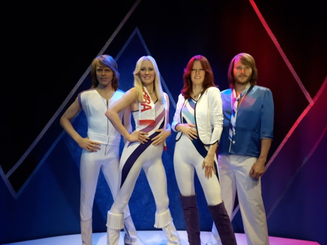 ABBA - The Museum wax statues of the ABBA members
