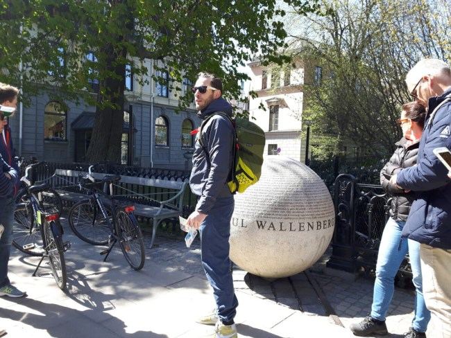 Wallenberg monument Stockholm