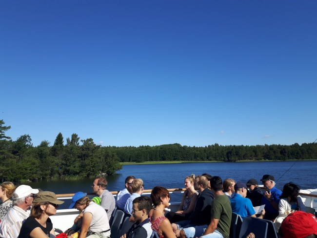 By boat to Birka