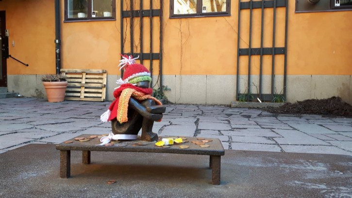 Järnpojken, het kleinste ventje van Stockholm