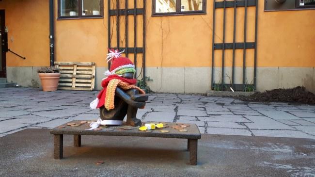 Järnpojken, het Stockholm's smallest guy