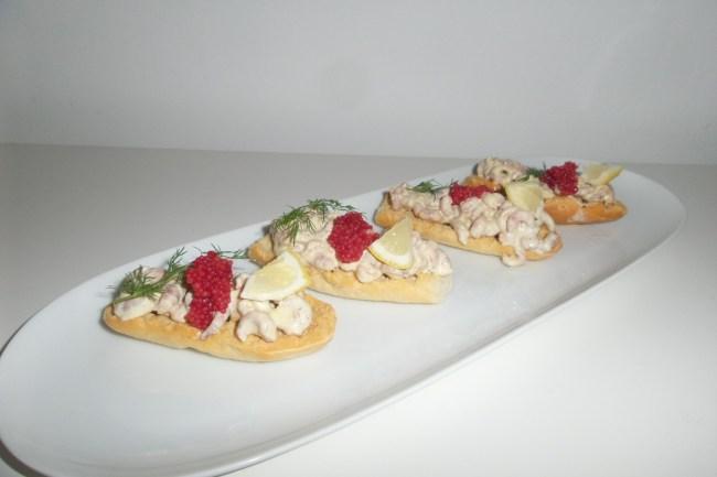 Recept Toast Skagen