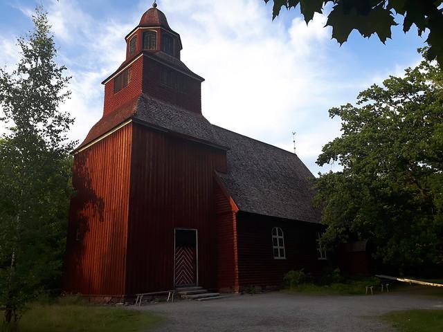 Seglora kyrka Skansen