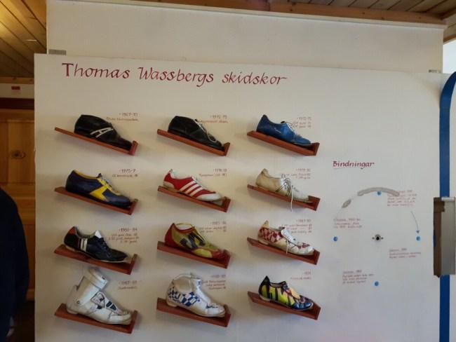 Museum Thomas Wassbergs skidskor