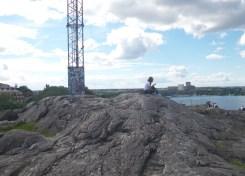 Skinnarviksberget , Stockholms hoogste natuurlijke punt