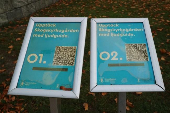 Audioguide Skogskyrkogården