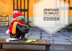 The smallest statue in Stockholm