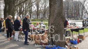 Loppis Stockholm rommelmarkt