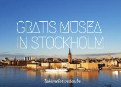 Gratis musea in Stockholm